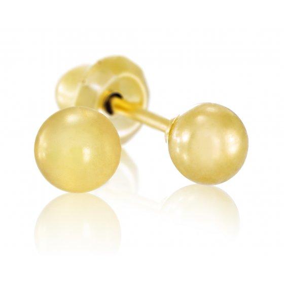 Brinco Sensitive Bola Dourada 11