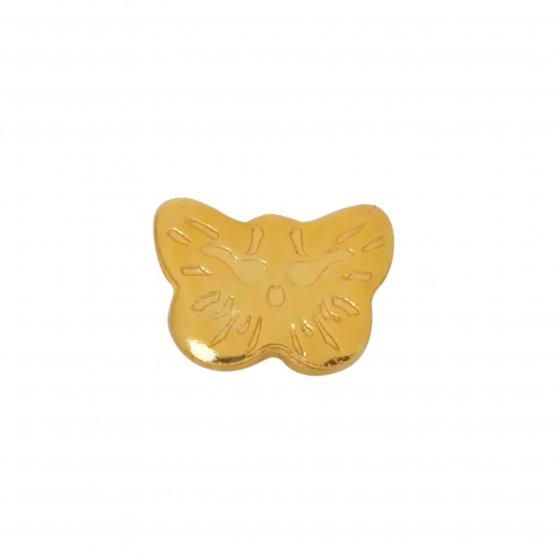 Brinco Sensitive Borboleta dourada 60