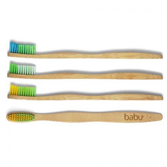 Babu Escova de dentes bambú extra suave adulto Ref. 5035