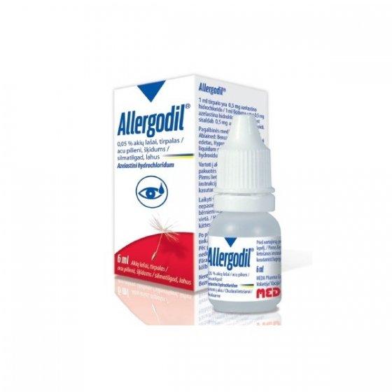 Allergodil, 0,5 mg/mL-6 mL x 1 sol col