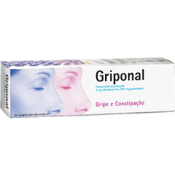 Griponal, 4/500 mg x 20 comp eferverscente