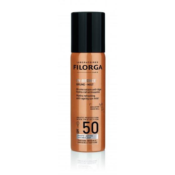 Protetor Solar Filorga UV Bronze Brume Mist Antienvelhecimento SPF50+ 60ml