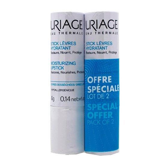 Uriage Duo Stick Labial 2 x 4 g com Desconto de 50%