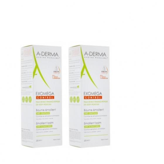 A-Derma Duo Bálsamo Emoliente 2 x 400 ml com Desconto de 70% na 2Ş Embalagem