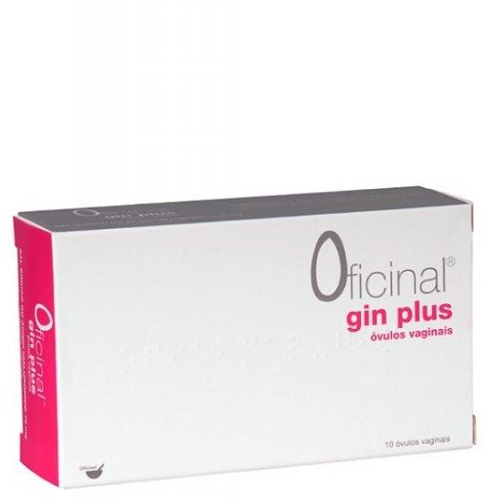 Gin Plus Oficinal Óvulo Vaginal (10 unidades)