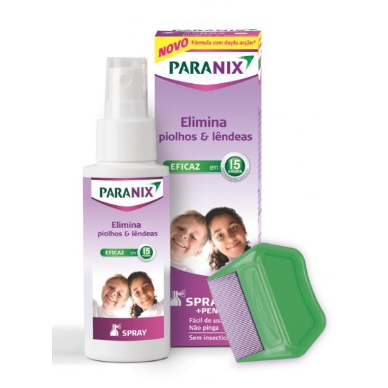 Paranix Spray Piolhos/Lęndeas 100 ml + Pente