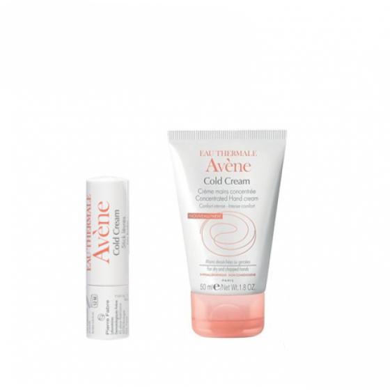 Avène Cold Cream Pack Creme Mãos + Stick Labial