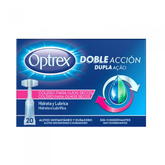 Optrex Colirio Dupla Ação Olhos Secos X20