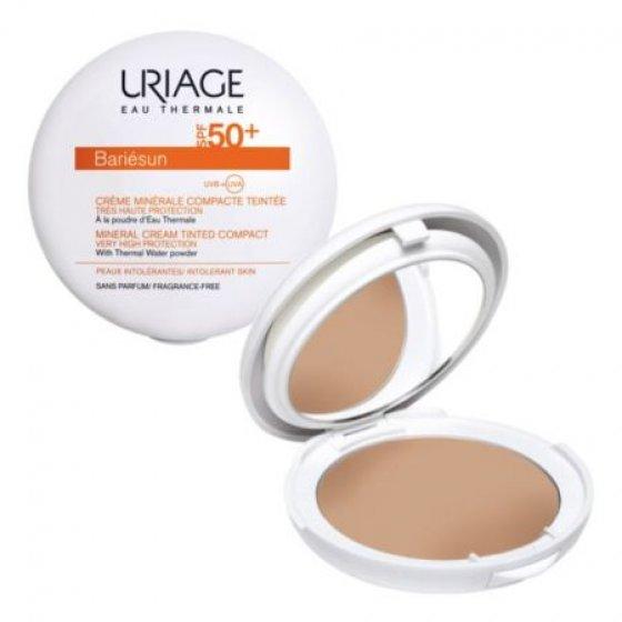Uriage BARIÉSUN CREME MINERAL COMPACTO COR NATURAL SPF50+ 10G