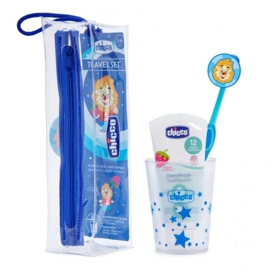 Chicco Conjunto de Higiene Oral Menino 3-6A