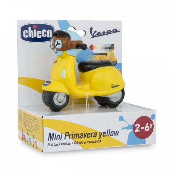 Chicco Mini Vespa Primavera Amarela