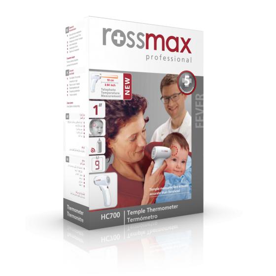 Rossmax Termómetro de Tempora S/ Contacto HC700