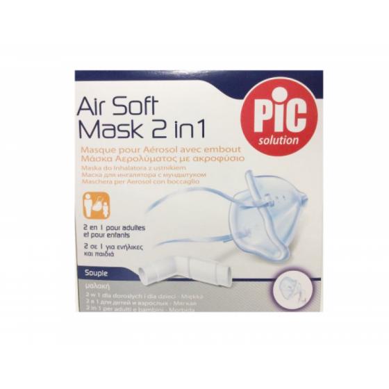 Pic Máscara Air Soft 2 Em 1
