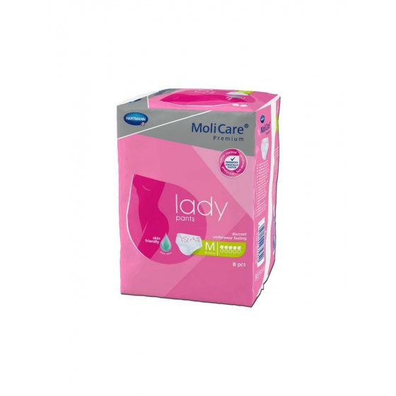 Molicare Premium Lady Pants 5G - Tamanho M X8