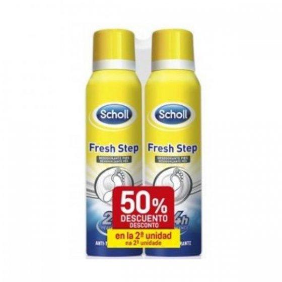 Dr. Scholl Fresh Step Spray Desodorizante Pés 2x150ml