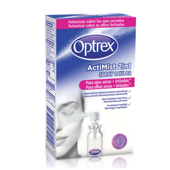 Optrex Actimist  2em1 Spray Olh Secos 10ml