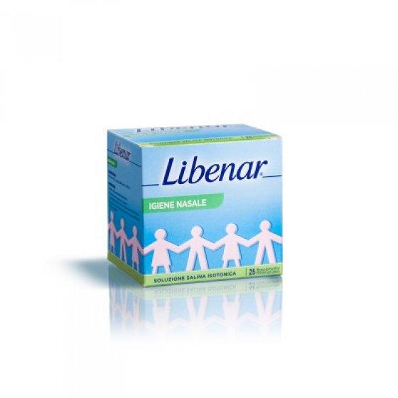 Libenar Solução Salina Esterilizada 25 X 5 ML COM DESCONTO DE 25%
