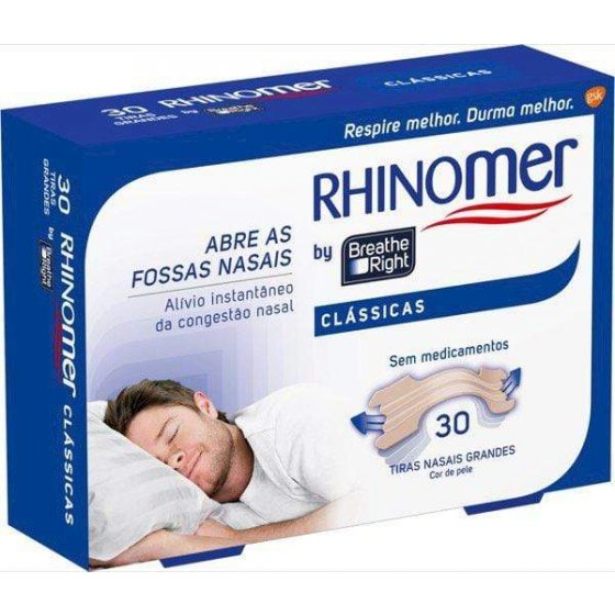Rhinomer by Breathe Right Clássicas Grandes x 30