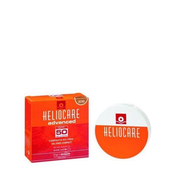 Heliocare Oil Free Compacto Spf50 Escuro 10g