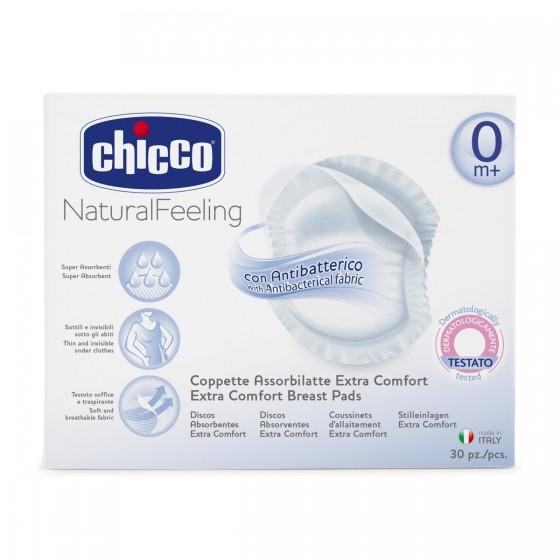 Discos Absorventes Chicco Anti-bacterianos 30 un.