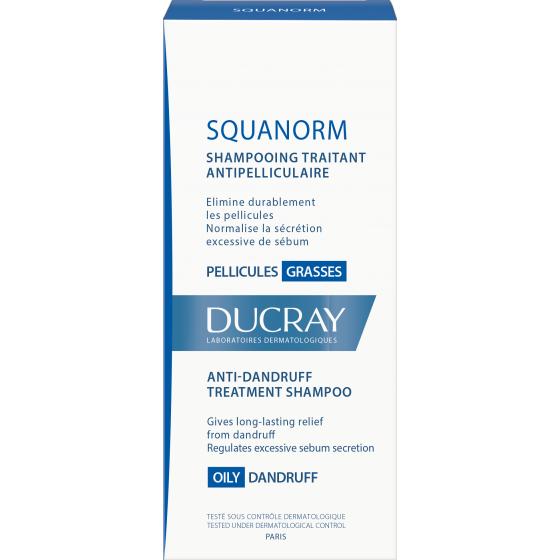 Squanorm Champô De Cuidado Anticaspa Oleosa 200ml