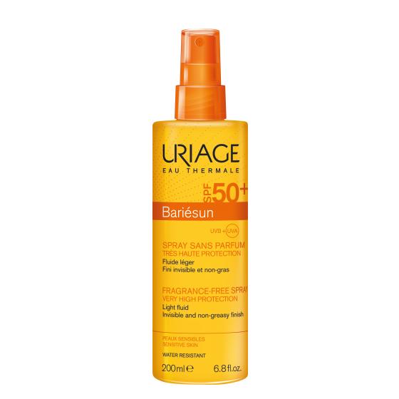 Uriage Bariésun Spray Sem Perfume SPF50+ 200ml