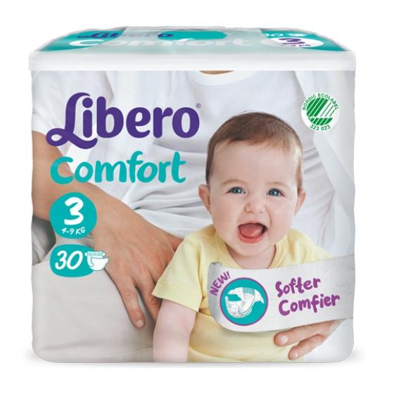 Libero Baby Comfo Fit Frald 5/9 Kg Midix30
