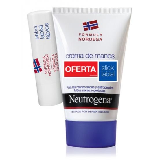 Neutrogena Creme Măos Concentrado com perfume 50 ml com Oferta de Stick Labial 4.8 g