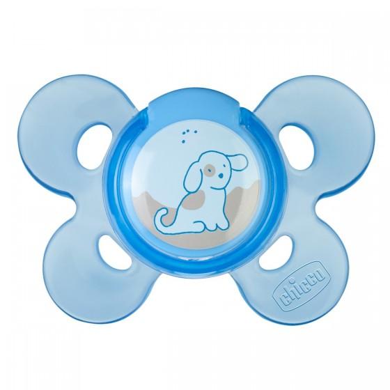 Chicco Chupeta Silicone Physio Comfort 0-6M Azul