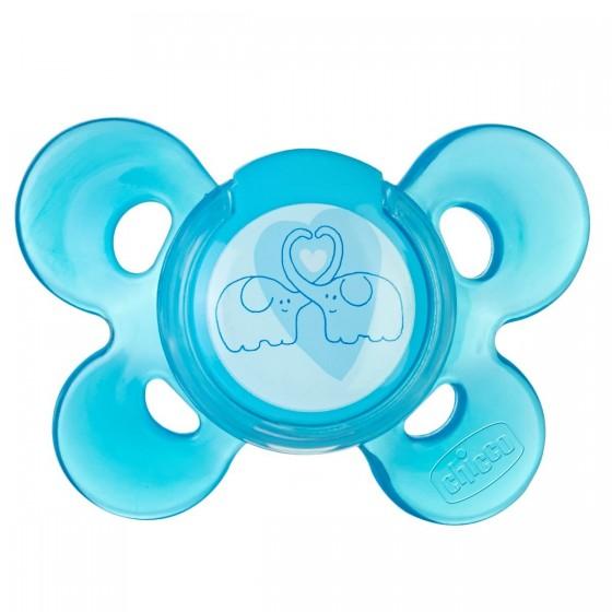 Chicco Physio Comfort Chupeta Silicone Azul 6-12m A