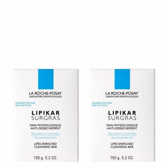 La Roche Posay Lipikar Surgras Pain Duo Sabonete 2x150gr
