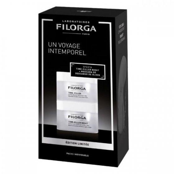 Filorga Duo Time Filler Creme 50ml + Timer Filler Night 50ml Coffret