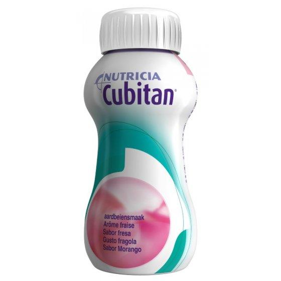 Cubitan Sol Morango 200ml X 4 emul oral frasco