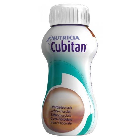 Cubitan Chocolate 200ml X4 emul oral frasco