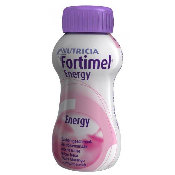 Fortimel Energy Morango 200ml X4 emul oral frasco