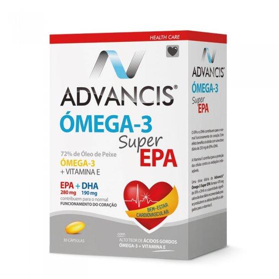 Advancis Omega-3 Super Epa 30 cápsulas