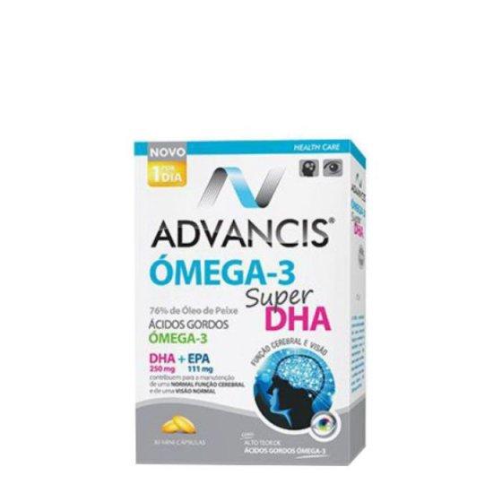 Advancis Ómega 3 Super DHA Mini-Cápsulas 30unid.