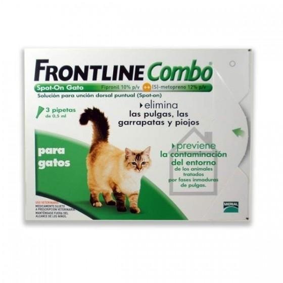 Frontline Combo Sol Top Gato 0,5 Ml X 1 sol unçăo punctif VET