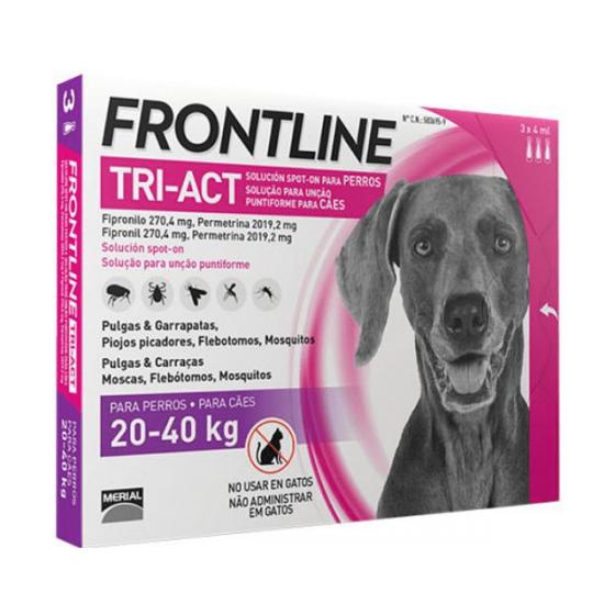 Frontline Tri-Act L Sol Cao 20-40kg 4mlx3