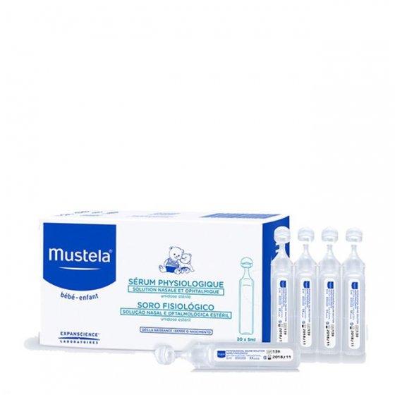 Mustela Bebé Soro fisiológico 40 x 5 ml com Preço especial