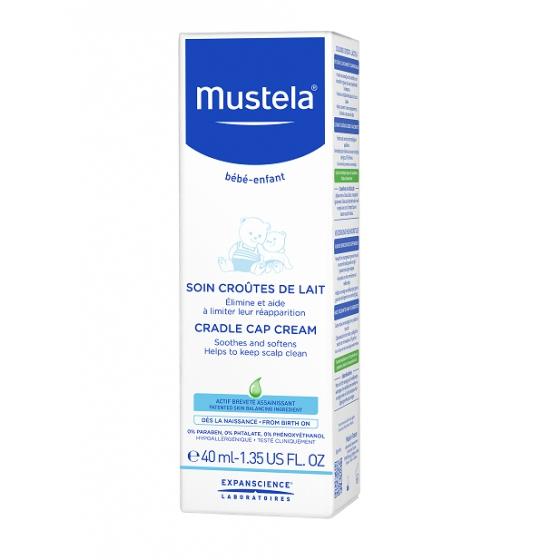 Mustela Bebé Tratamento Crosta Láctea 40ml