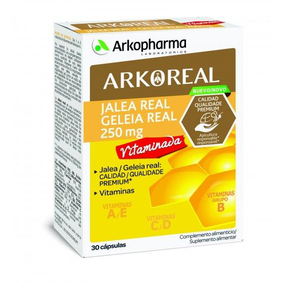 ARKOREAL Geleia Real Vitaminada 30 cáps