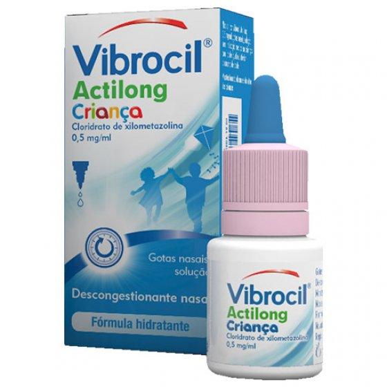 Vibrocil Actilong Gotas Nasais Criança 10 ml