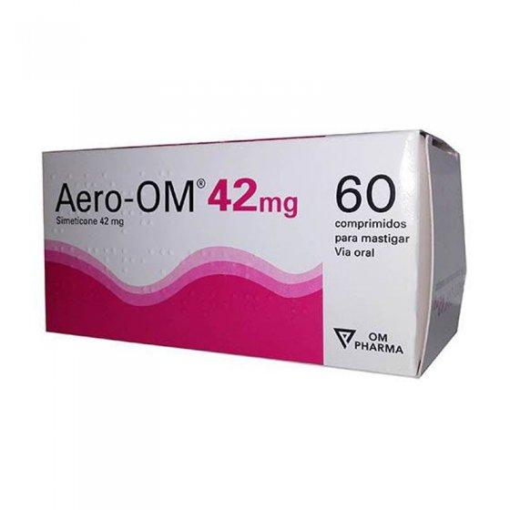 Aero-OM 42mg 60 comprimidos para mastigar